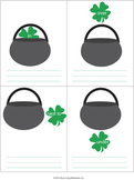 Preposition Writing Worksheet for St. Patrick's Day