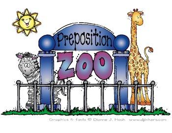 Preposition Zoo Book