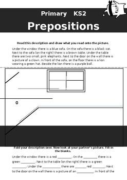 Preposition activities