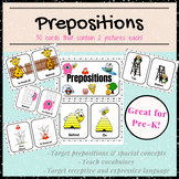 Preposition and Spatial Concept Cards