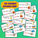 Preposition game