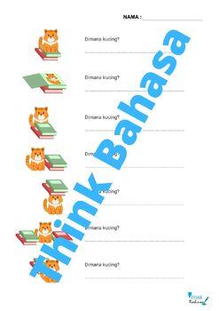 Preposition in Indonesian (Worksheets & Answer Keys) | Preposisi dan Lokasi