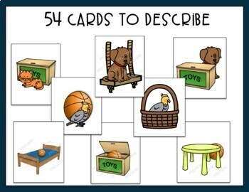 Prepositions - adapted activity for autism