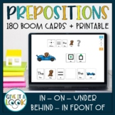 Prepositions Activity for Autism (in, on, under, behind, in front of)