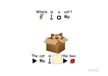 Preposition interactive notebook