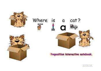 Preposition interactive notebook