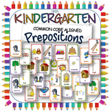 Preposition posters printables