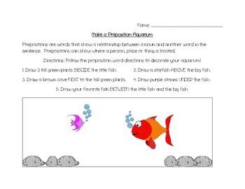 Prepositional Aquarium