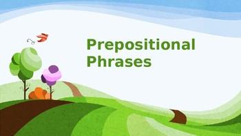 Prepositional Phrase Game