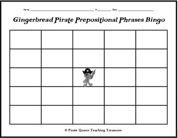 Prepositional Phrase Hunt and Bingo Game—Freebie!