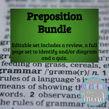Prepositional phrase pack identify diagram review and test tpt prepositional phrase pack identify diagram review and test ccuart Images
