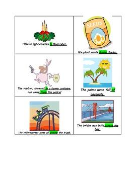 Prepositional Phrase Race Game