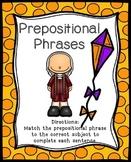 Prepositional Phrases Activities