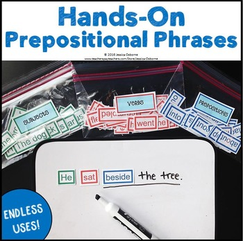 Prepositional Phrases Hands-On Activity