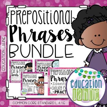 Prepositional Phrases Bundle