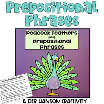 Prepositional Phrases Craftivity
