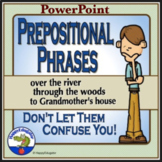 Prepositional Phrases PowerPoint Distance Learning