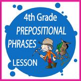 Prepositional Phrases Activities – 4th Grade Language Practice & Lesson