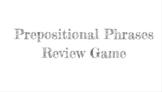 Prepositional Phrases Identification Game