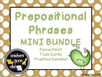 Prepositional Phrases Mini Bundle