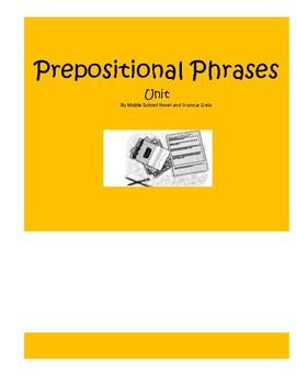 Prepositional Phrases Mini Lessons