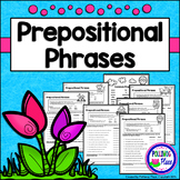 Prepositional Phrases - Grammar Practice Pages