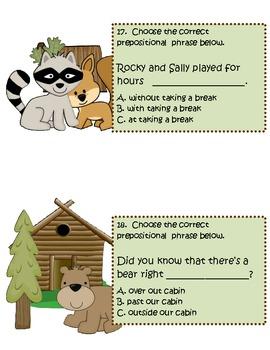 Prepositional Phrases Travel Game