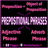 Prepositional Phrases | Adjective and Adverb Phrases | Wor