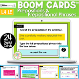 Prepositional Phrases and Prepositions Activity | Boom Car
