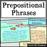 Prepositions and Prepositional Phrases Games for Promethean Board Use
