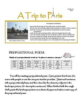 Prepositional Poem
