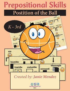 Prepositional Skills:  Position of the Ball