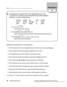 Prepositions 01: Prepositions & Prepositional Phrases