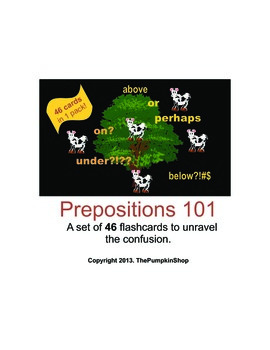 Prepositions 101