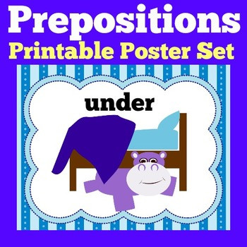 Prepositions Pictures | Prepositions Posters | Prepositions Preschool