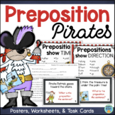 Prepositions Task Cards, Literacy Center, Anchor Charts, & Assessment