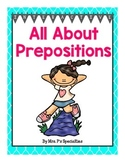 Prepositions: Instructional Materials for Special Education (Autism Resource)