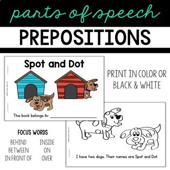Prepositions Guided Reading Book