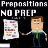 Prepositions - Prepositional Phrases No Prep Reading & Wri