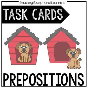 Prepositions Task Card Set