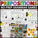 Prepositions Games (Includes Prepositions, Prepositional Phrases, & More!)