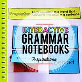 Prepositions Interactive Grammar Notebook