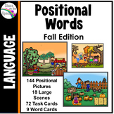 Preposition Activities (Positional Words) Fall