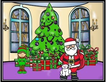 Preposition Activities (Christmas Positional Words)