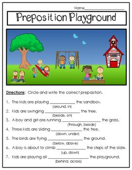 Prepositions FREE!