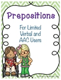 AAC and Limited Verbal Preposition Fun!