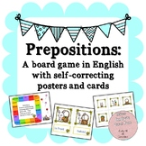 Prepositions: A game and posters