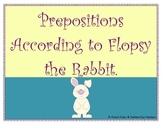 Prepositions According to Flopsy the Rabbit