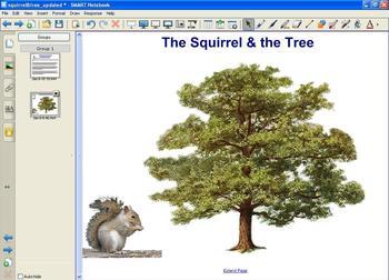 Prepositions Activity - Squirrel & Tree