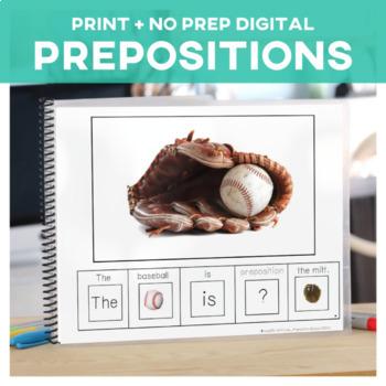 Prepositions: Adapted Book Baseball Edition